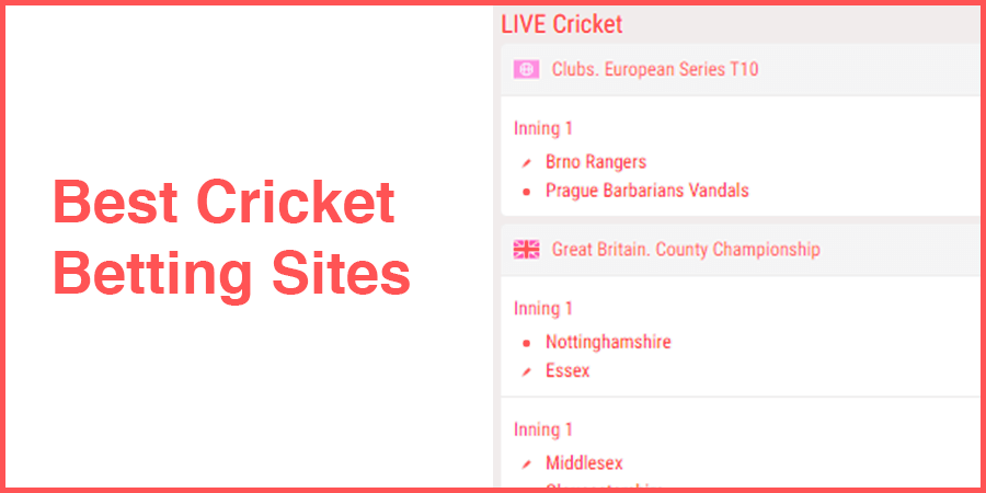 Most Valuable Cricket Betting Sites